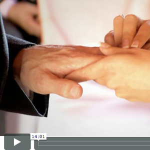 Still Image of a Professional Wedding Video